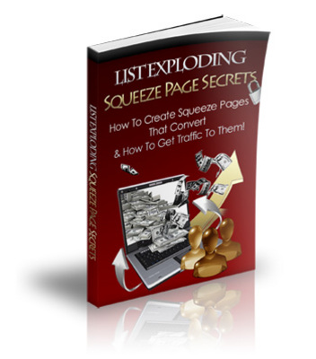 Product picture Squeeze Page Secrets PLR